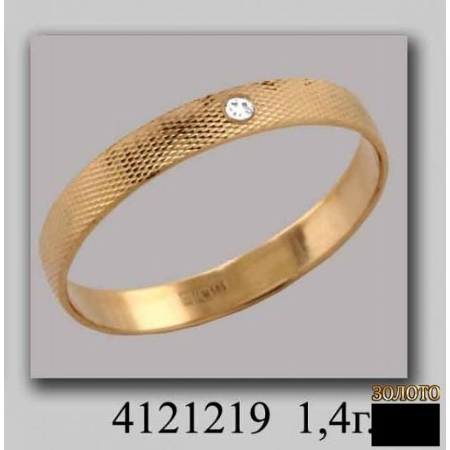 Обручальное кольцо 4121219k фото