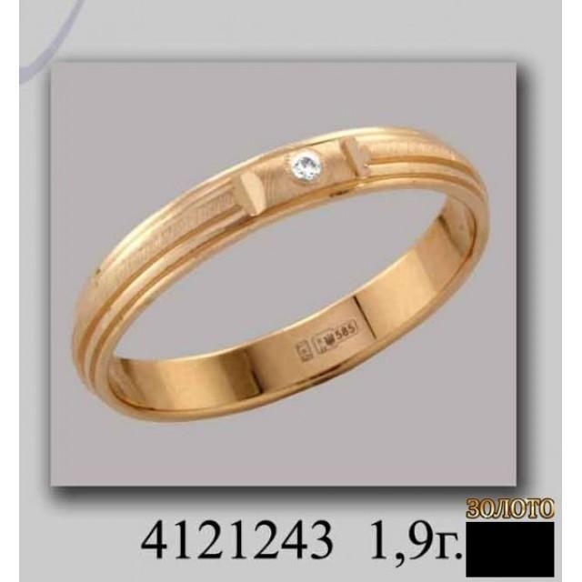 Обручальное кольцо 4121243k