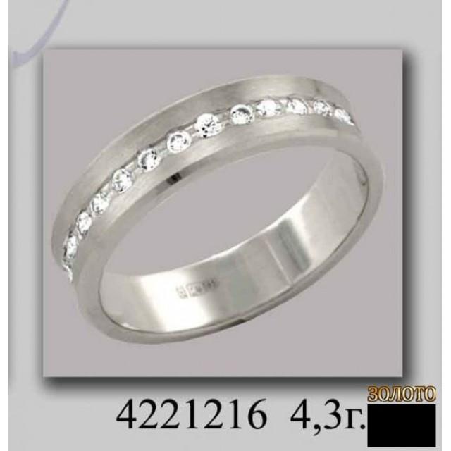 Обручальное кольцо 4221216k
