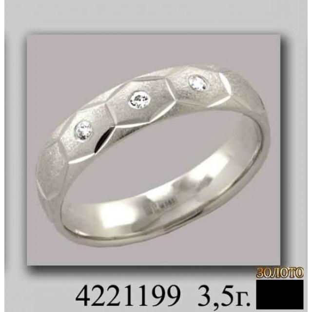 Золотое обручальное кольцо 4221199k фото