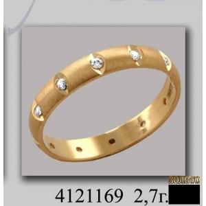 Золотое обручальное кольцо 4121169к