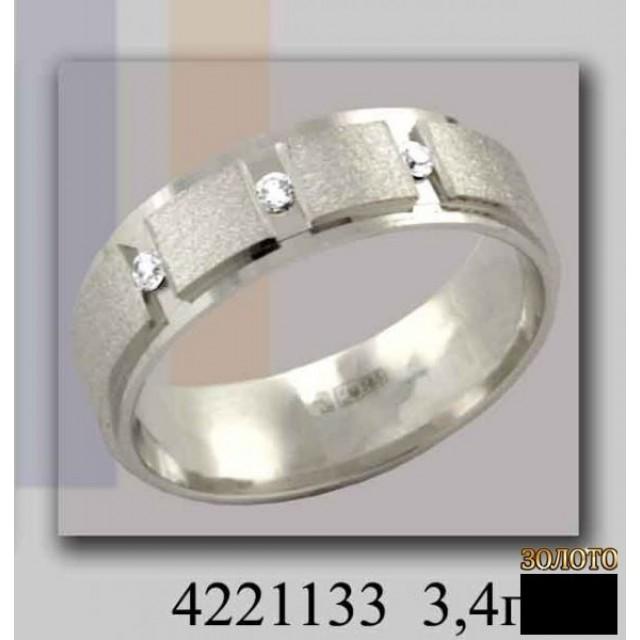 Золотое обручальное кольцо 4221133к фото