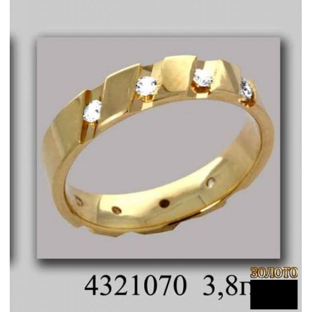 Обручальное кольцо 4321070k