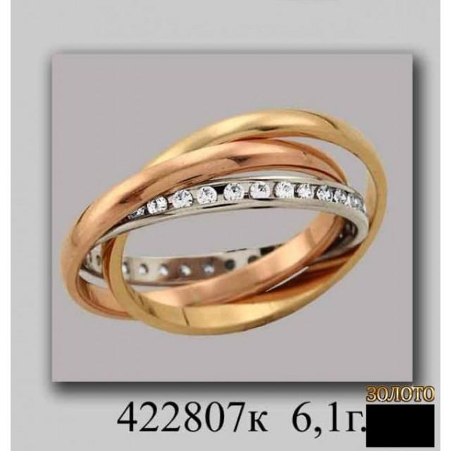 Обручальное кольцо 422807k