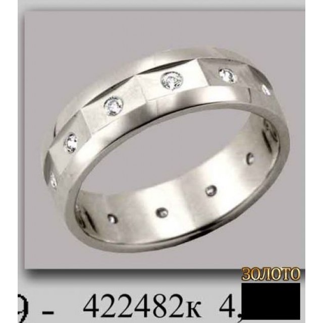 Обручальное кольцо 422482к