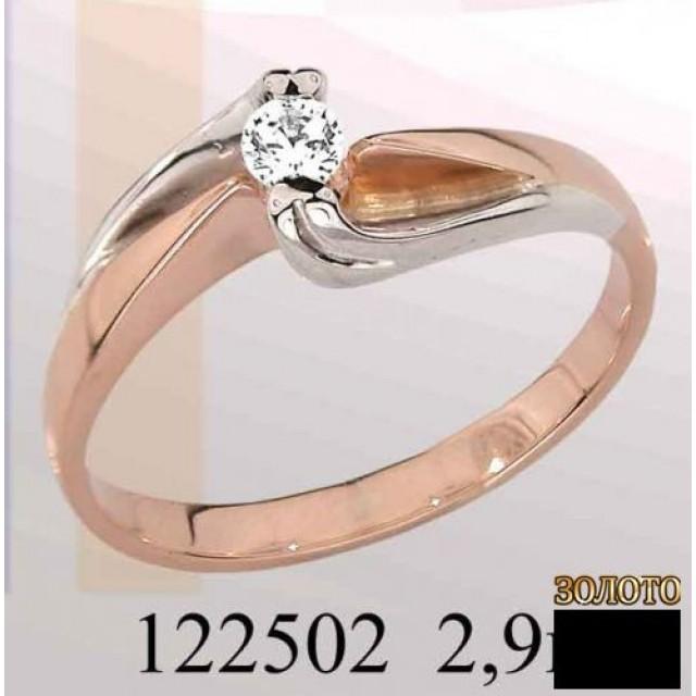Золотое кольцо 122502 фото