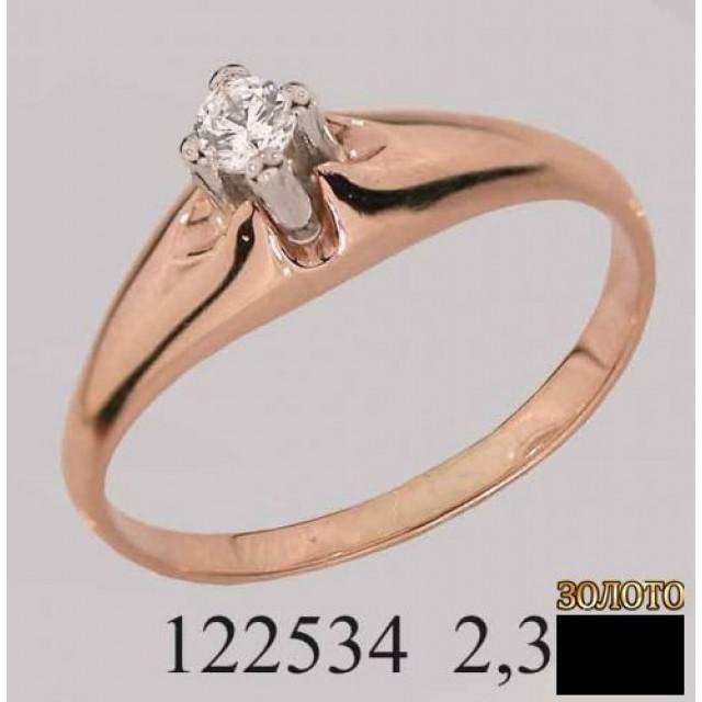 Золотое кольцо 122534 фото