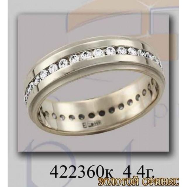 Золотое обручальное кольцо 422360к