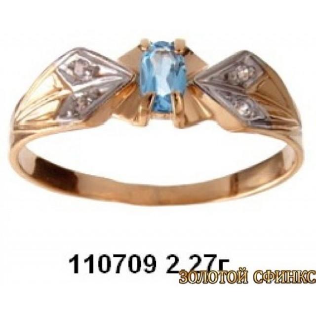 Золотое кольцо 110709 фото