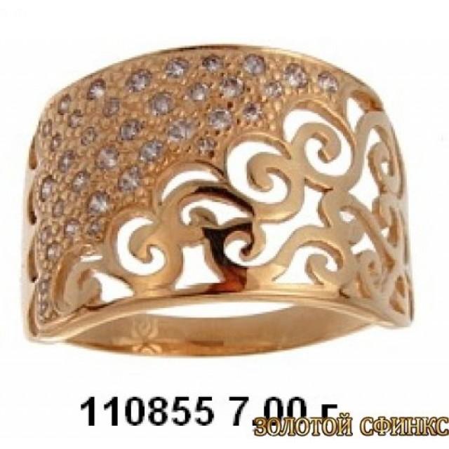 Золотое кольцо 110855 фото