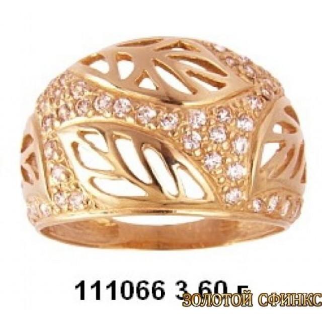 Золотое кольцо 111066