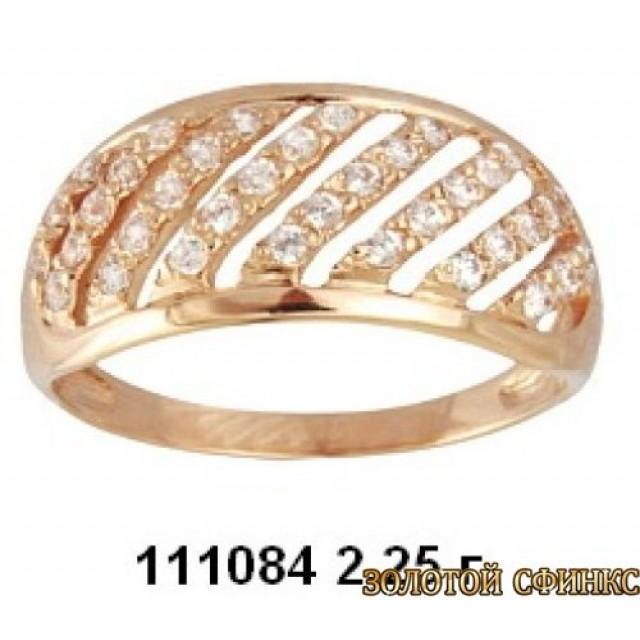 Золотое кольцо 111084 фото