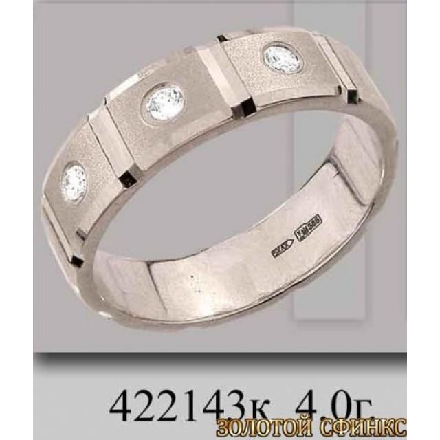 Обручальное кольцо 422143к фото