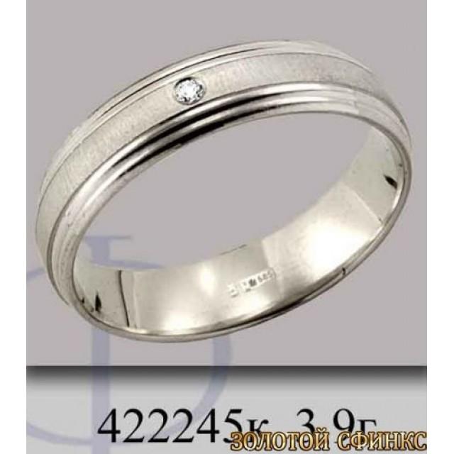 Золотое обручальное кольцо 422245к