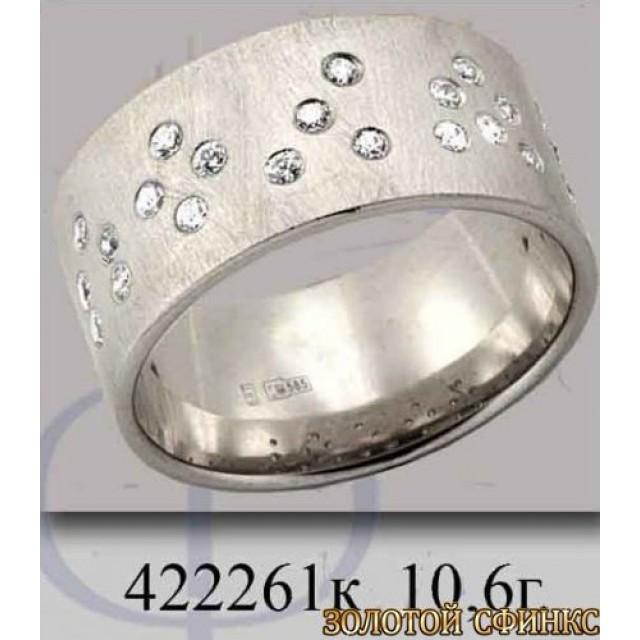 Обручальное кольцо 422261к фото