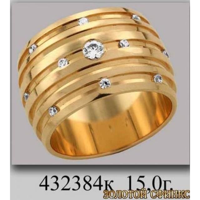 Обручальное кольцо 432384к фото