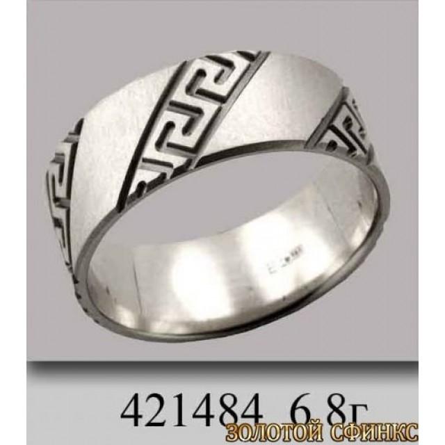 Золотое обручальное кольцо 421484