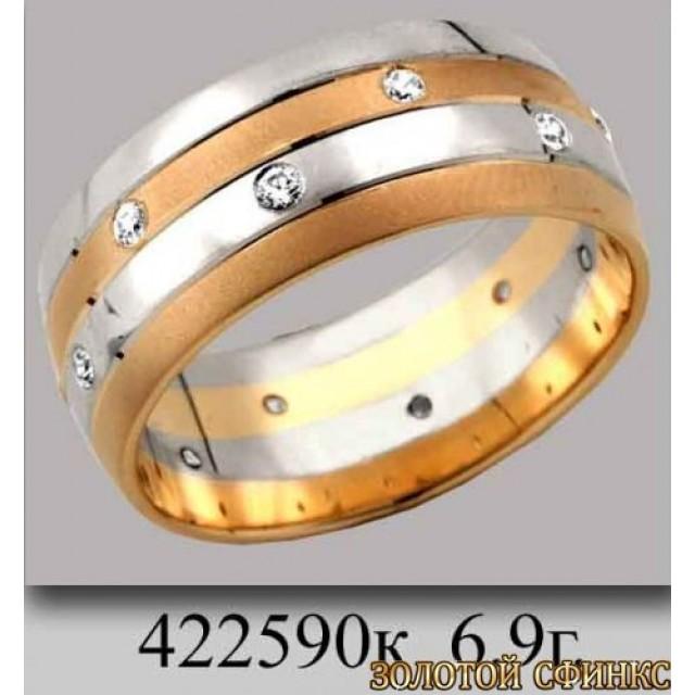 Обручальное кольцо 422590к фото