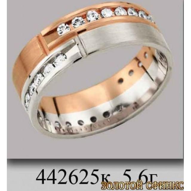 Обручальное кольцо 442625к