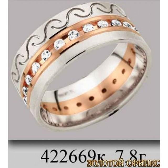 Обручальное кольцо 422669к