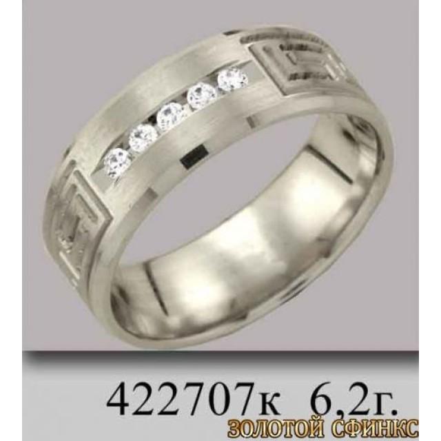 Обручальное кольцо 422707к фото