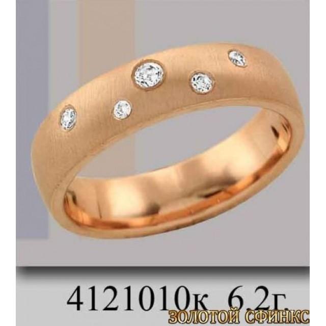 Обручальное кольцо 4121010к