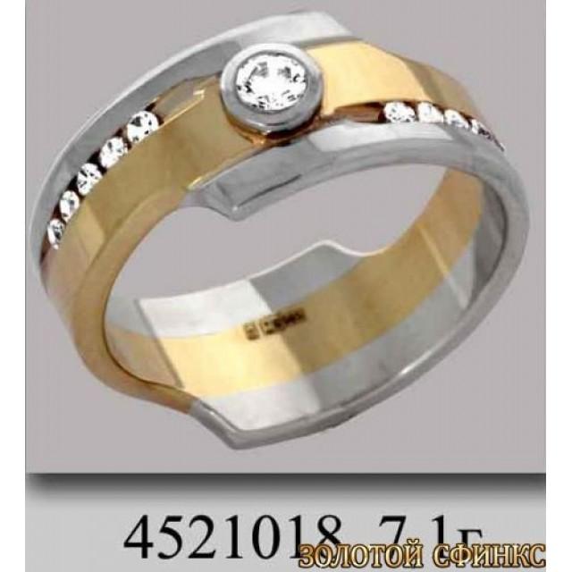 Обручальное кольцо 4521018к фото