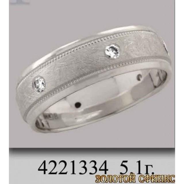 Обручальное кольцо 4221334 фото