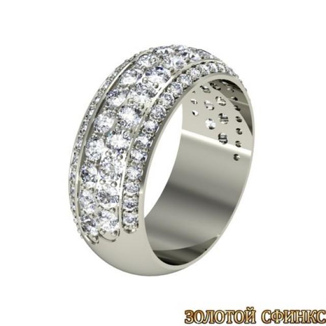 Кольцо обручальное золотое 3020113-154 фото