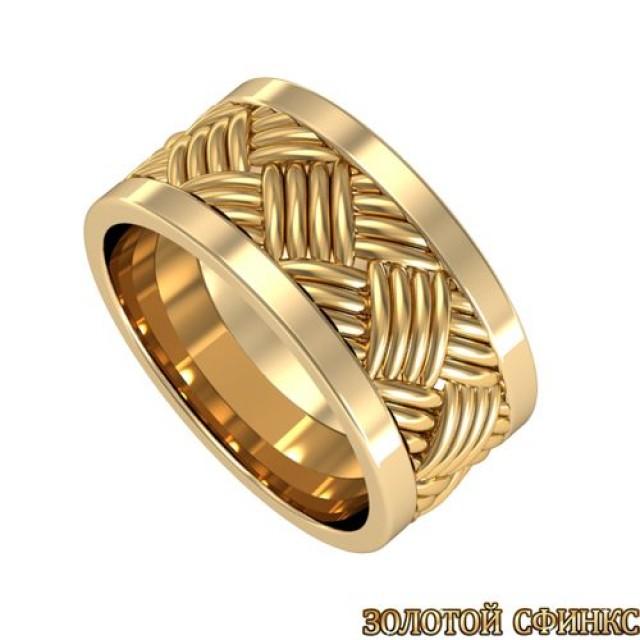 Золотое обручальное кольцо 8020124-103