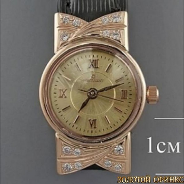 Золотые женские часы 94 РК