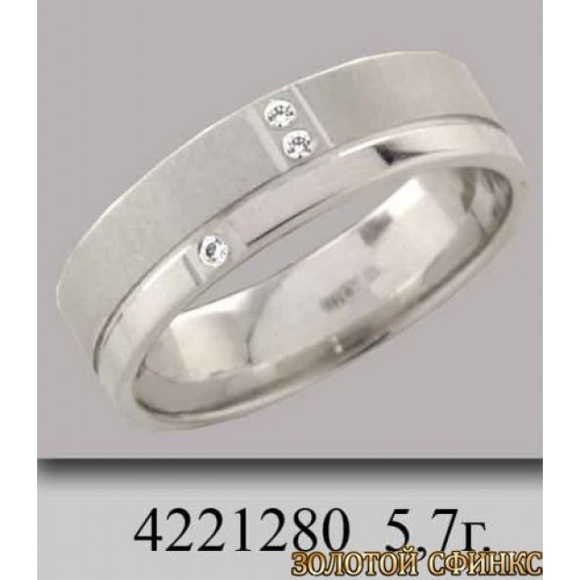 Золотое обручальное кольцо 4221280 фото