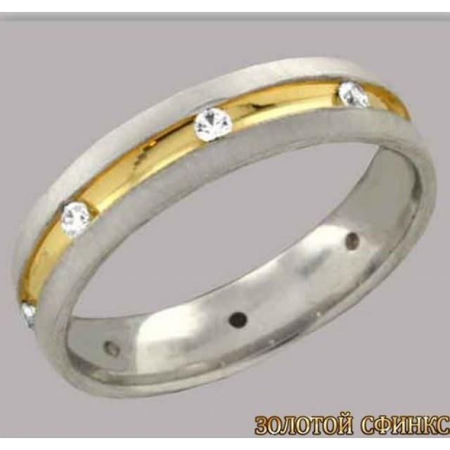 Золотое обручальное кольцо 4421401