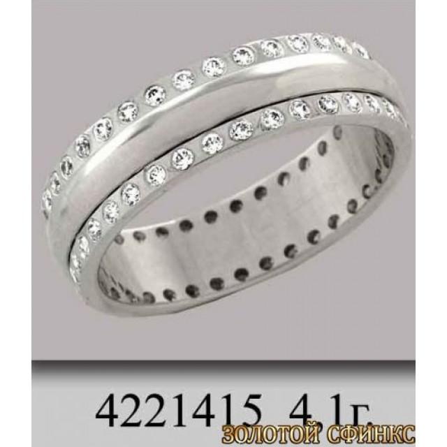 Золотое обручальное кольцо 4221415