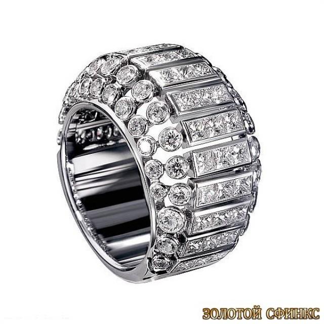 Обручальное кольцо 40022cr
