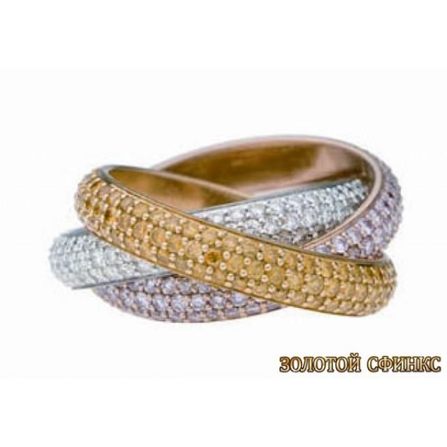 Обручальное кольцо 40024cr