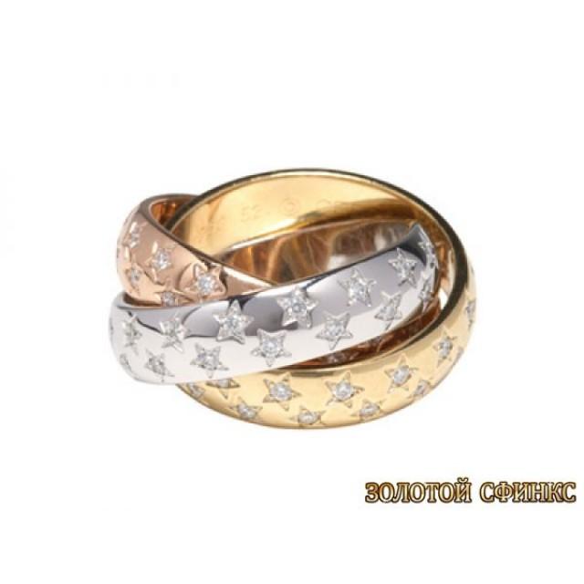 Обручальное кольцо 40025cr