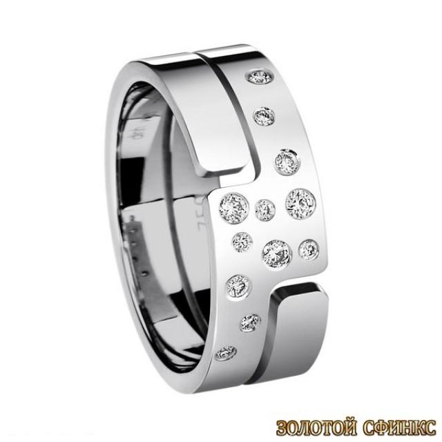 Обручальное кольцо 40071dv