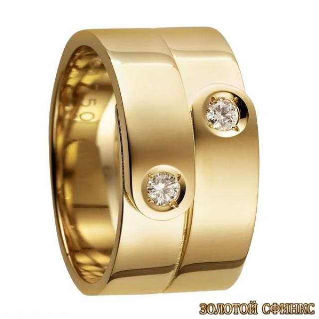 Обручальное кольцо 40072dv