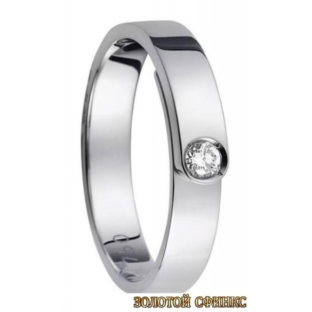 Обручальное кольцо 40073dv