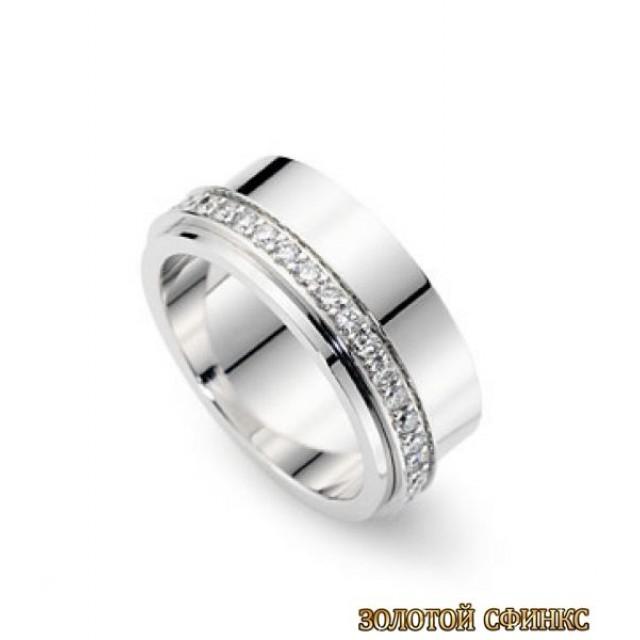 Обручальное кольцо 40106pt