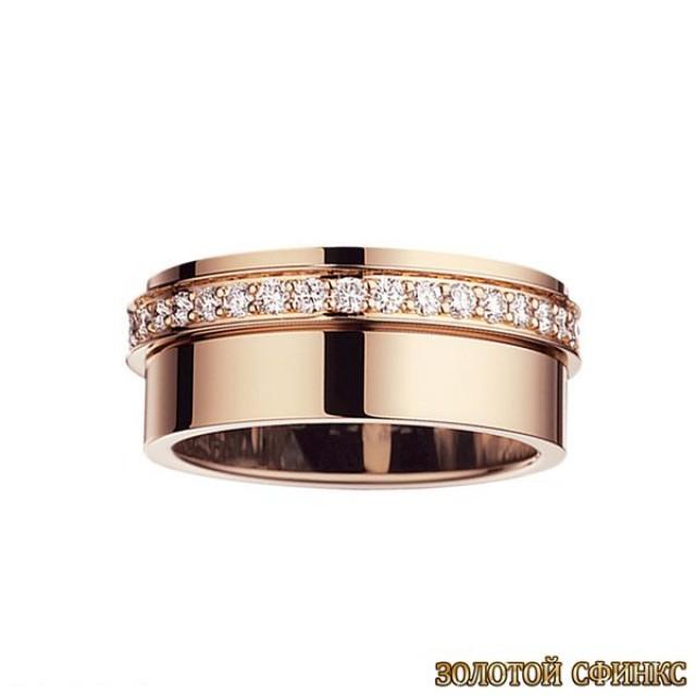 Обручальное кольцо 40111pt