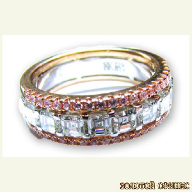 Обручальное кольцо 40122sg