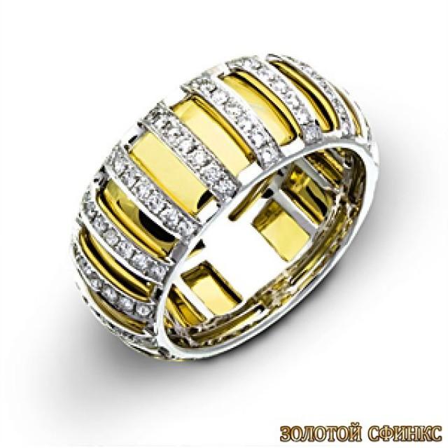 Обручальное кольцо 40128sg