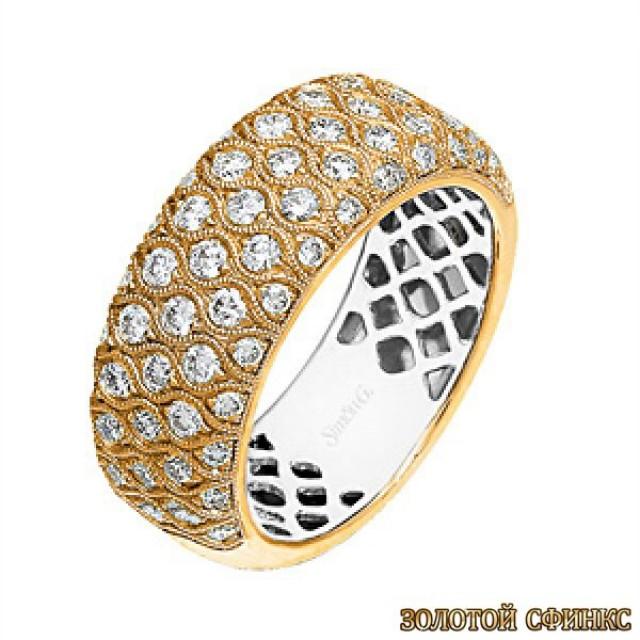 Обручальное кольцо 40129sg