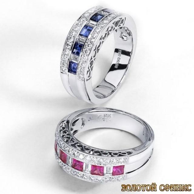 Обручальное кольцо 40130sg