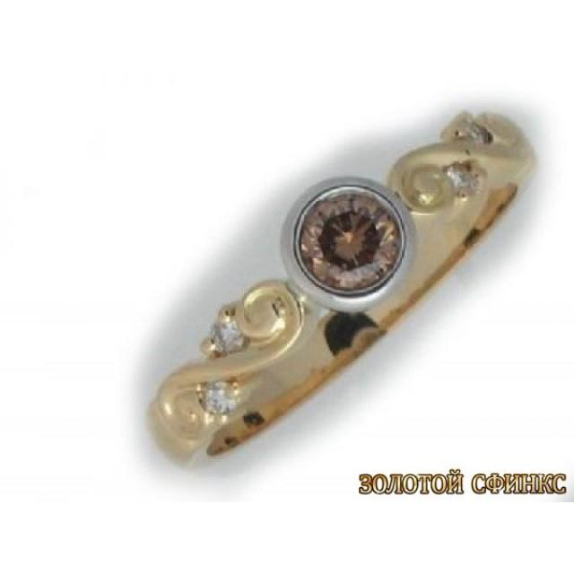 Обручальное кольцо 40138пом