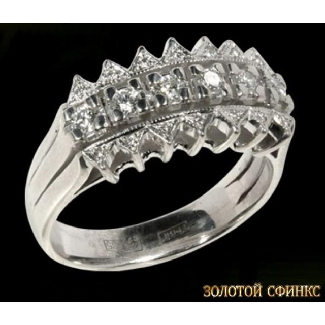 Обручальное кольцо 40145пом