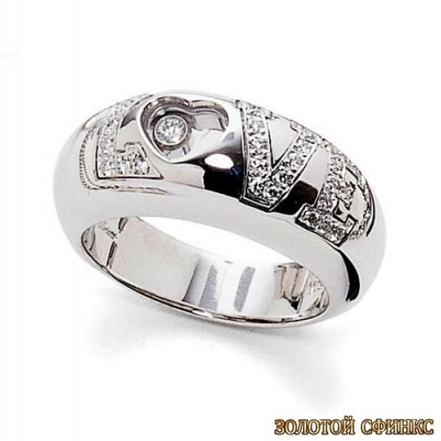 Обручальное кольцо 40147пом