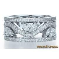 Обручальное кольцо 40159пом